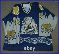 Martin St. Armour Los Angeles Ice Dogs 1995/96 Game Worn Used Hockey Jersey IHL