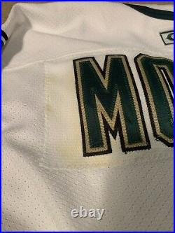Mike Modano Dalla Stars Authentic Center Ice CCM Jersey Size 52 Hockey Sewn #9