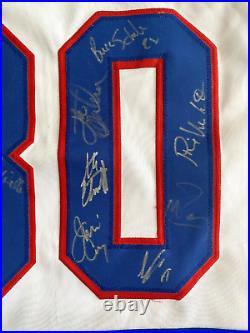 Miracle On Ice Signed 1980 USA Hockey Jersey JSA COA Autograph Gold Craig Baker