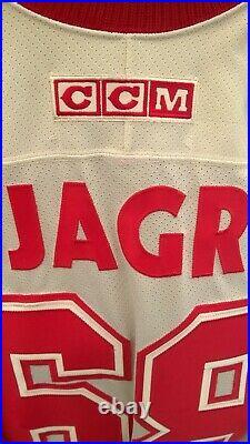 NHL 2004 All-star RARE Jersey CCM M JAGR NEW YORK RANGERS VINTAGE ICE HOCKEY