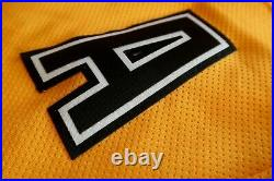 NHL Boston Bruins Cam Neely Pooh Bear Pro Player Ice Hockey Jersey Adult XL
