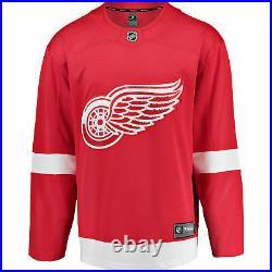 NHL Detroit Red Wings Fanatics Branded Home Breakaway Jersey Shirt Mens