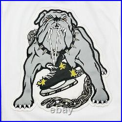NWOT Vtg Rare IHL LA Long Beach Ice Dogs Starter Hockey Jersey. Mens Medium
