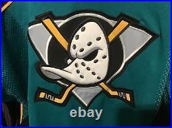Paul Kariya Captain Anaheim Mighty Ducks Starter Authentic Ice Hockey Jersey L