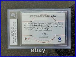 Production Line 2001-02 BAP ULTIMATE MEMORABILIA Howe Lindsay Abel 8 of 20