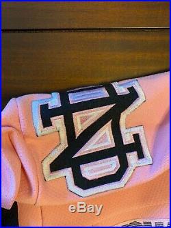 Rare Vintage K1 CCM North Dakota Fighting Sioux Pink Hockey Jersey