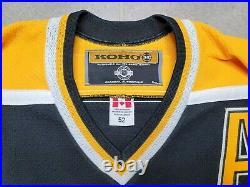 Size 52 Boston Bruins On-Ice Authentic Koho NHL Hockey Jersey Glen Murray