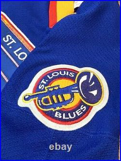St Louis Blues CCM Center Ice NHL Hockey Jersey Vintage Authentic Gretzky Era 52