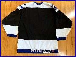 Tampa Bay Lightning Blank CCM Authentic Hockey Jersey Center Ice Size 44