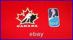 Team Canada 2014 Sochi Winter Olympics Hockey Jersey S Red Twill Ice
