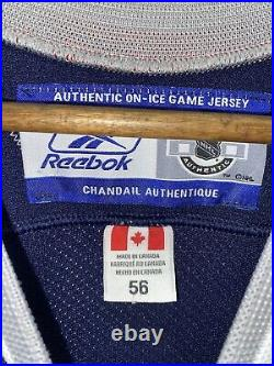 Vintage 1998 New York Rangers Lady Liberty Official On Ice Hockey Jersey 56 XXL