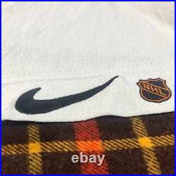 Vintage Anaheim Mighty Ducks Nike Center Ice Authentic Hockey NHL Jersey Sz 56
