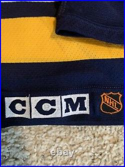 Vintage Authentic Pavel Bure Panthers Hockey Center Ice CCM Fight Strap 48