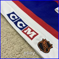 Vintage Winnipeg Jets CCM Center Ice Hockey Jersey NHL White 56 Rare 90-96 GFK
