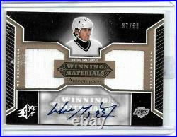 Wayne Gretzky 2005-06 Spx Winning Materials Dual Jersey & Certified Autograph#50